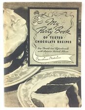My Party Book of Tested Chocolate Recipes 1938 General Foods Frances Barton