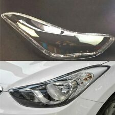 For Hyundai Elantra 2012 2013 2014 2015 2016 Car Headlight Headlamp Clear Lens