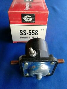 Ford, Farm & Tractor Standard Starter Switch # SS-558 Circuit 2, 6 volt 1937-50