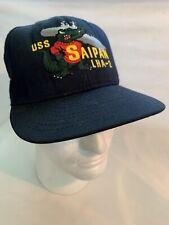 US Navy USS Saipan LHA-2 Command Ball Cap