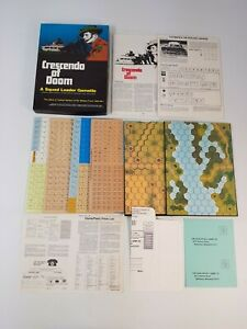 Crescendo of Doom Board Game Vintage Strategy Complete New Unpunched Avalon Hill