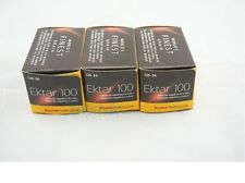 3 x KODAK EKTAR 100 ISO 100 35mm COLOR NEGATIVE FILM FRESH 3/2019 !