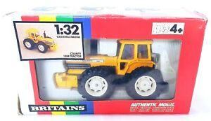 Britains Ltd 1:32 FORD 4x4 COUNTY 1884 YELLOW Farm TRACTOR 9521 MIB`89 TOP RARE!