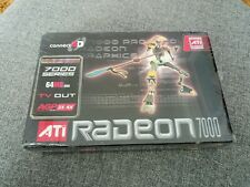 ATI Radeon 7000 AGP 64MB Connect 3D Graphics Card Sealed in Original Packaging