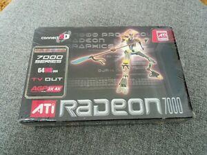 ATI Radeon 7000 AGP 64MB Connect 3D Graphics Card Sealed in Original Box