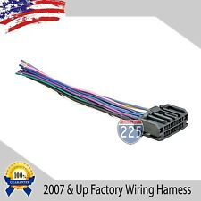 Car Stereo Wiring Harness Factory Radio Male Plug Chrysler Dodge Jeep 2007 & UP