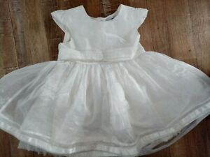 Girls Ivory Party Dress Age 3-4 Years