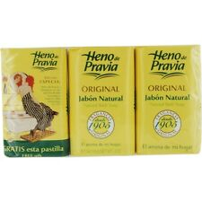 Heno De Pravia Set Of 2 Soaps Plus 1 Free And Each Is 4 oz