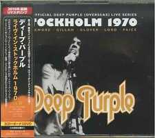 DEEP PURPLE-MKII- LIVE IN STOCKHOLM 1970-JAPAN  CD+DVD BONUS TRACK I19