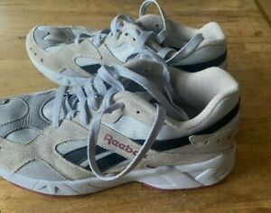 Reebok  Aztrek  trainers size 8 grey retro  90s style