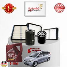 Mantenimiento Filtros + Aceite Mazda 5 2.0 de MZR - CD 105KW 143CV 2005 - >2010