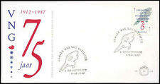 Netherlands 1987 Municipalities Union FDC First Day Cover #C20259