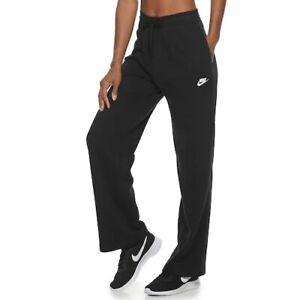 NIKE Women's Sportswear Loose Fit Fleece Pants BLACK (Size SMALL) NWT MSRP $45