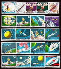 Rep.d'HAITI: l'ESPACE: deuxieme homme sur le Lune    82m79B