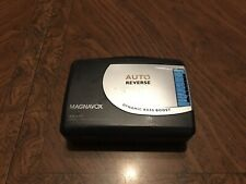 MAGNAVOX AQ6587 Stereo Radio Casette Player TESTED WORKS