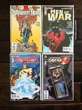 4 New 52 Issue #1 Comic Books Lot, Animal Man, Dial H, Men Of War, Stormwatch