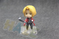 "Anime Fullmetal Alchemist Edward Elric 4"" PVC Action Figure Model Toy Collection"