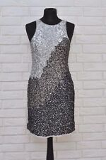 Maya Shift Dress In Tonal Sequins size 12 ex ASOS