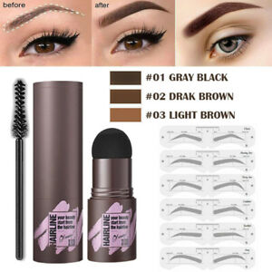 One Step Perfect Eyebrow Stamp Shaping Kit Eye Brow Stencils Definer Makeup Set'