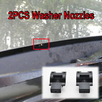 x2 Front Windscreen Wiper Washer Jet Nozzle Fit For Toyota Scion Lexus etc