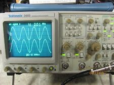 Tektronix Oscilloscope 2465 4 Channel 300 Mhz