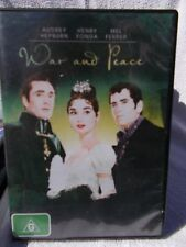 WAR AND PEACE AUDREY HEPBURN HENRY FONDA,MEL FERRER DVD G R4