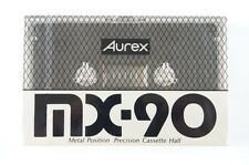AUREX MX 90 Type IV Metal CASSETTE TAPE SEALED JAPAN
