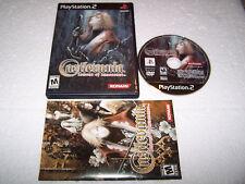 Castlevania lamento de inocencia-Playstation 2 PS2-EE. UU. NTSC-Exc Cond