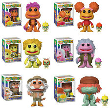 Funko POP! Television ~ FRAGGLE ROCK VINYL FIGURE SET ~ Red, Gobo, Wembley+++