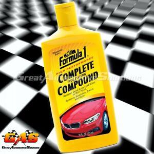 Formula 1 Complete Polishing Compound 473ml Restores Car Paint Remove Scratches
