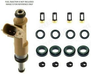 Denso Fuel Injector repair kit For Matrix Corolla Scion xD 1.8L orings filters
