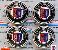 BMW  Alpina Alloy Wheel Centre Caps 68mm Fits Most 1 2 3 3 5 7 Series  Set x 4