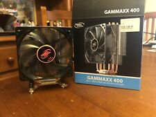 DeepCool Gammaxx 400 PWM CPU Cooler Fan Intel 1366 1156 1155 1151 1150 2066 AMD