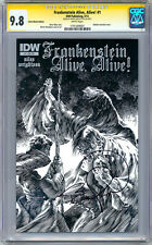 FRANKENSTEIN ALIVE ALIVE! #1 CGC-SS 9.8 SIGNED WRIGHTSON RETAILER INCENTIVE 2012