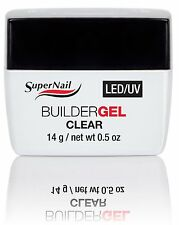 SuperNail LED/UV Builder Gel Clear .5oz 51600
