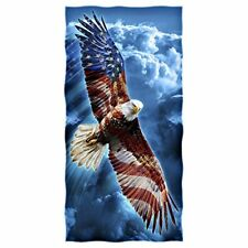 "American Eagle Cotton Ultra Soft Beach Pool Home Bath Towel 30"" x 60"" Washcloths"