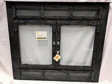 """Stoll Prefab Fireplace Old World ReFace Burnished Bronze Finish 36.25"""" x 31.75"""""""