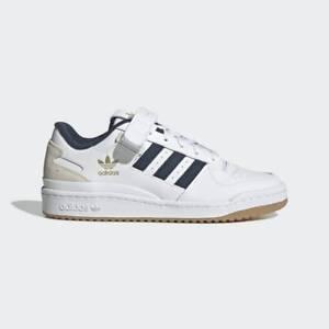 [GY2648] Adidas FORUM LOW Men's Sneaker Shoes Cloud White/Crew Navy/Gum *NEW*