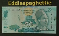 Malawi 50 Kwacha 1-1-2015 UNC P-64b