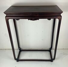 Chinese 19th century table carved wood side table good condition