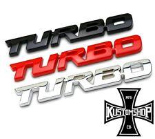 TURBO BADGE XR6 BARRA PERFORMANCE JDM ETC..
