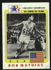 FULL Set of Greatest Olympians cards 1980s