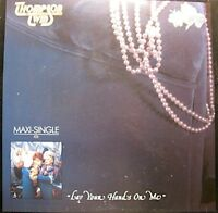 ++THOMPSON TWINS lay your hands on me/the lewis carol MAXI 1984 ARISTA NM++