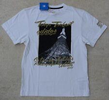 adidas L-G Tokyo Damen T Shirt Freizeitshirt Hemd Größe S Weiß 254257