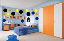 100 POLKA DOTS WALL STICKER DECALS 4 COLORS ROOM DECOR CHILDRENS ROOM PLAYROOM