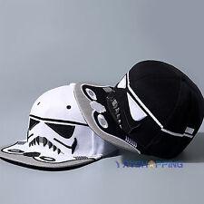 Men Women Star Wars Snapback Baseball Cap Hip Hop Sport Flat Bill Hat Adjustable