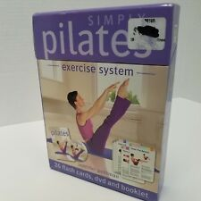 Simply Pilates Exercise System DVD 26 Flash Cards Booklet Jennifer Pohlman