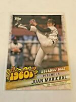 2020 Topps Baseball Decades' Best 1960's - Juan Marichal - San Francisco Giants