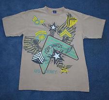 Men's Give Me Face - US Army – Tan short sleeve t-shirt (XL)