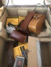 RARE VINTAGE PAILLARD BOLEX H8 H-8 H 8 MOVIE CASE With Vintage Supplies